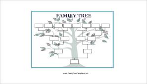 family tree templates free u0026 premium creative template