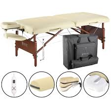 memory foam massage table topper 30 del ray therma top pro package massage table walmart com