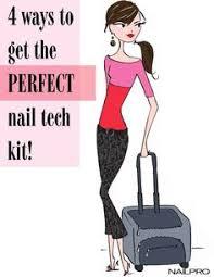 nail technician kit intermediate sheba nails nail product must