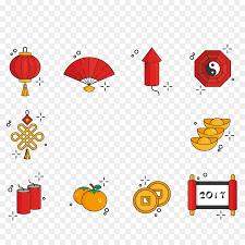 lantern new year new year lantern festival icon new year element