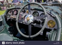 bentley interior vintage blower bentley interior at classic car show in the