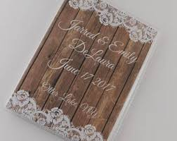 wedding photo albums 5x7 wedding photo album etsy