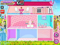 Dolls House Decorating Games Play Princess Pets Doll House Game Online Y8 Com