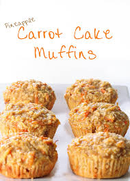 pineapple carrot cake muffins taylormade market