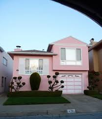 modern pink house little pink houses pinterest pink houses