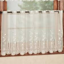 embroidered sheer tier window treatments