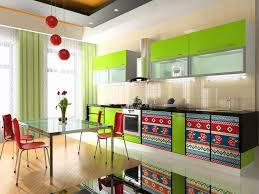 bright kitchen ideas beautifully bright colored kitchen designs buzznugs com