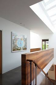Wood Banisters Villa Excellent Semi Minimalist Residence With Wood And Stones