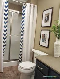 Shower Curtains For Glass Showers Hide Shower Doors Bathroom Pinterest Shower Doors