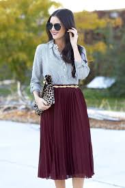 179 best how to wear it pleated midi skirt images on pinterest