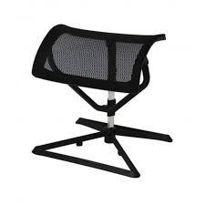 Schreibtisch Schwarz Lack Fußablage Fußstütze Büro Schwarz Verstellbar Beinablage