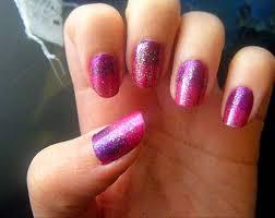 pink u0026 purple gradient nails nail art design fingernails