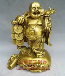 aliexpress buy copper sculpture maitreya buddha bronze