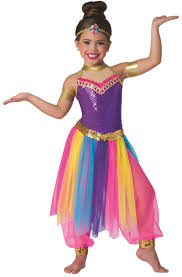 belly dancer costumes for halloween genie princess arabian nights belly dance fancy dress costume 3