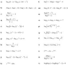 math exercises u0026 math problems logarithmic equations and inequalities