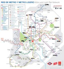 Dubai Metro Map by Madrid Metro Map