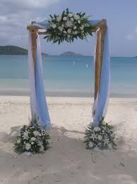 bamboo wedding arch wedding flowers site decor st destination
