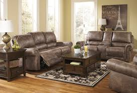 Leather Sofa With Recliner Bradley S Furniture Etc Rustic Reclining Sofas And Recliners