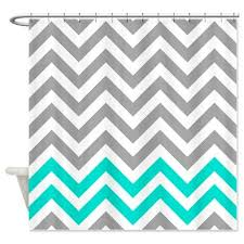 Turquoise And Grey Shower Curtain 45 Best Shower Curtains Images On Pinterest Shower Curtains