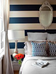 Navy Coral And White Bedroom Color Trends At High Point Market Hgtv U0027s Decorating U0026 Design