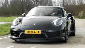 porsche 911 turbo sound 2016 porsche 991 turbo s mkii fast accelerations exhaust