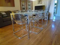 ikea breakfast table set modern glass and stainless set dining room joanne russo