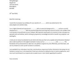 foundation manager cover letter rf technician cover letter