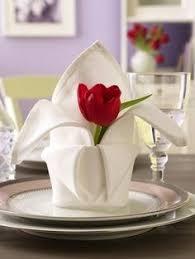 how to fold napkins for a wedding dobrando o guardanapo para um jantar decoração