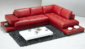 Modern Leather Chair Viewing Gallery 18 Stylish Modern Red Sectional Sofas