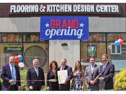 flooring and kitchen design center celebrates grand opening