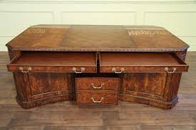 leather top partners desk amd file for the traditional high end
