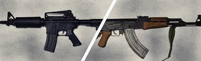 Flag With Ak 47 What Makes The Best Battle Rifle The M16 Or Ak 47