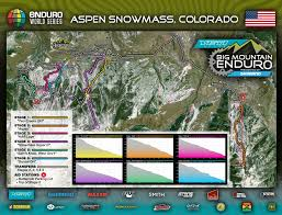 Keystone Colorado Map by Spectator U0027s Guide To Enduro World Series In Aspen Snowmass July 29