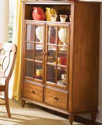 curio cabinet with touch lighting by liberty furniture wolf and