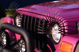cool pink jeep anyone with