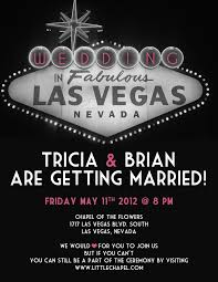 vegas wedding invitations vegas wedding invitations
