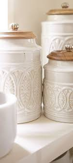 pottery canisters kitchen best 25 canisters ideas on kitchen canisters
