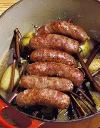 cuisiner les diots de savoie diots au vin blanc régal