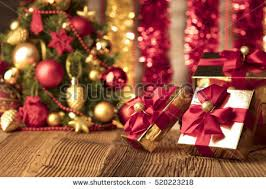 Red Gold And Purple Christmas Tree - view gift boxes red candles on stock photo 510693352 shutterstock