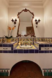 Spanish Style Bathroom by How To Decorate Your Home With Vibrant Mexican Flair