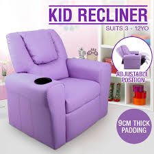 Leather Kids Chair Kids Lounger Chair