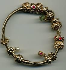 pandora chain bracelet charms images Pandora bracelet jewelry consignment pandora 14k gold charms jpg