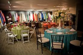 rent linens for wedding resultado de imagen para tablecloth rental showroom party table
