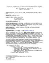 conference summary report template best photos of post event report sle sle event post mortem