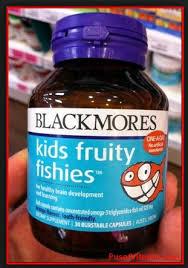 Minyak Ikan Blackmores jual vitamin anak penambah nafsu makan blackmores kidsfruity fishies