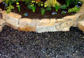 Rock For Landscaping by Nice Black Lava Rock Landscaping Designs Ideas And Decor
