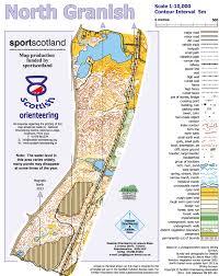 Stirling Scotland Map North Granish Badenoch U0026 Strathspey Orienteering Club