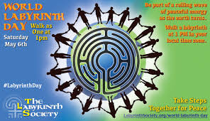 Global Time Zones Map by The Labyrinth Society The Labyrinth Society World Labyrinth Day