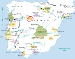 Spain On A World Map by Viura Quentin Sadler U0027s Wine Page