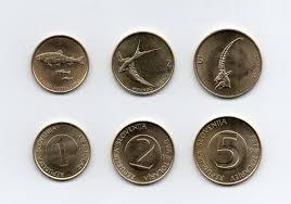 Tolar by Lote De 3 Monedas Sin Circular Eslovenia 1 2 5 Tolar 2 900 En
